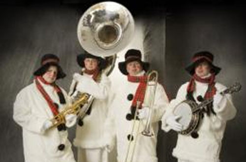 De swinging sneeuwmannen band
